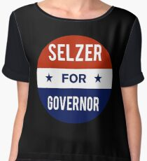 Ken Selzer For Governor of Kansas Chiffon Top