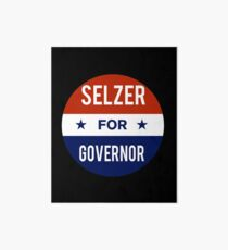 Ken Selzer For Governor of Kansas Art Board