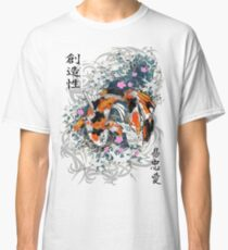 Thrashing Koi Classic T-Shirt