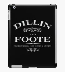 Dillin and Foote iPad Case/Skin