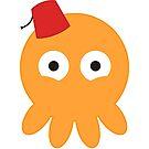 Fez Wearing Squid by Georg Varney