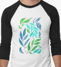 Loose Leaves - Cool Men's Baseball ¾ T-Shirt