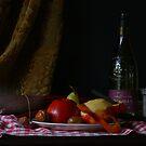 Peeling Apples by Gilberte