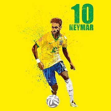 SPORTS ART #Brazil 10 by artpopop