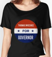 John Thomas Wiechec For Governor of Idaho Women's Relaxed Fit T-Shirt