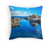 Swansea Heads Throw Pillow