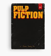 Pulp Fiction cover Canvas Print