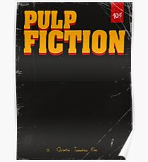 Pulp Fiction cover Poster