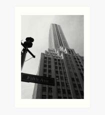 Fifth Avenue Art Print