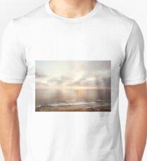 California Sunset Ocean Seascape Unisex T-Shirt