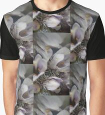 Mint Flowers With Gold Drops Graphic T-Shirt