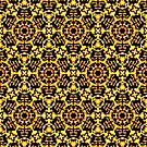 Sunny Gold Pattern by Dana Roper