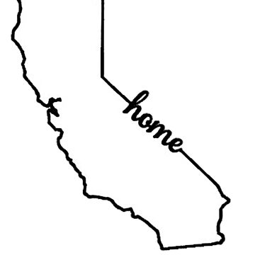California Outline - Home by catscollegecuts