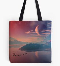 Worlds of Alienvisitor Tote Bag