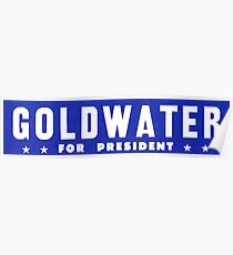 1964 Barry Goldwater for President Poster