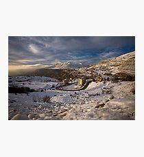 Faraya Mzaar Mountains, Lebanon Photographic Print