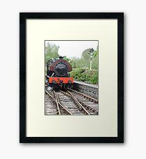 Victor: Steam Engine Framed Print