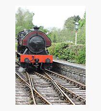 Victor: Steam Engine Photographic Print
