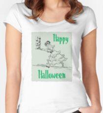 Schädelfresser Tailliertes Rundhals-Shirt