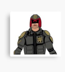 Judge Dredd Canvas Print
