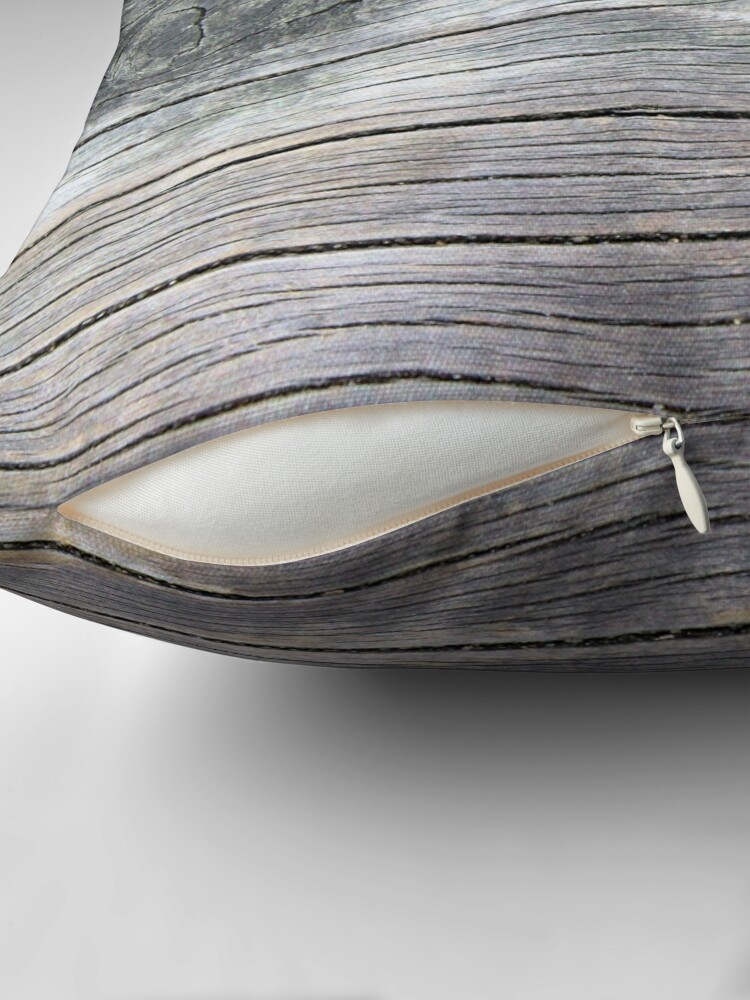 Alternate view of Knotted wood Throw Pillow