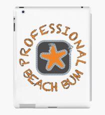 Professional Beach Bum iPad Case/Skin