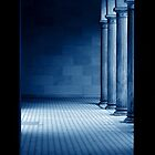The View through a Door.....illuminated Arcade by Imi Koetz