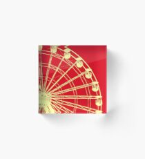 Big Wheel Acrylic Block