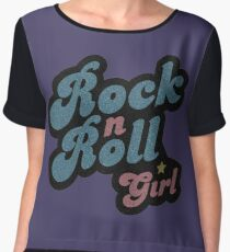 Darla Rock n Roll Girl Chiffon Top