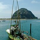 Morro Rock by Richard Stephan Bergquist