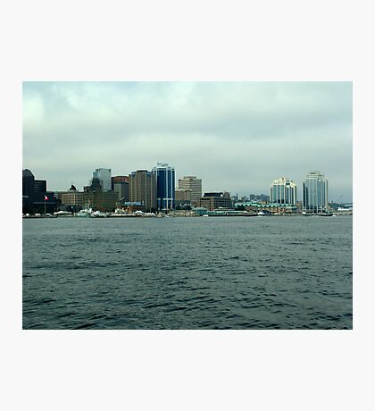 Waiting for the Sailpast-Halifax Photographic Print