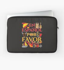 Spanish Teacher Gifts En Espanol Por Favor Laptop Sleeve