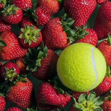 Tennis Strawberries by AlanOrgan