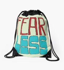 Fear Less Drawstring Bag