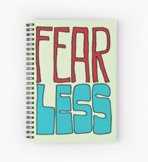 Fear Less Spiral Notebook