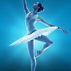 Blue Ballet by Cliff Vestergaard