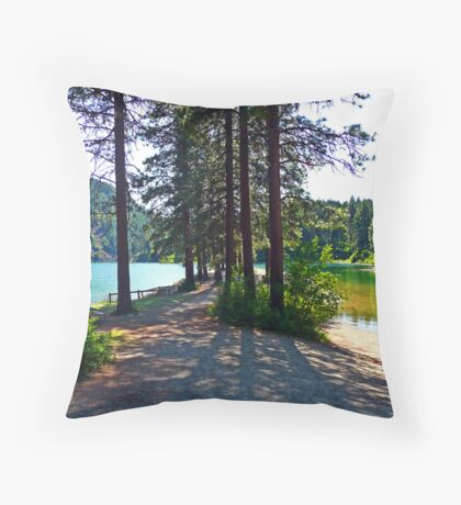 Buttonhook Bay  Throw Pillow