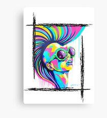 PUNKED Canvas Print