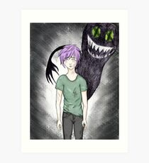 Dark Monsters Art Print