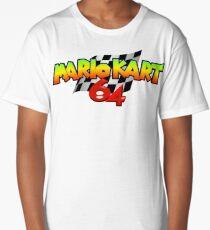 Mario Kart 64 logo Long T-Shirt