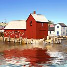 Red Boat House by Jack DiMaio