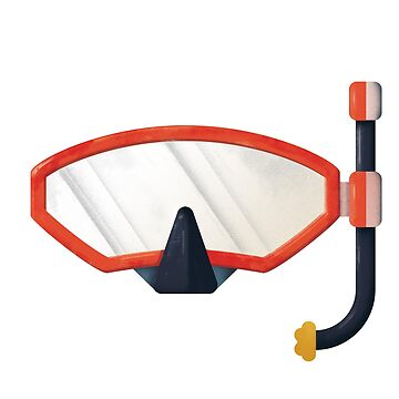 snorkling mask by franciscomartns