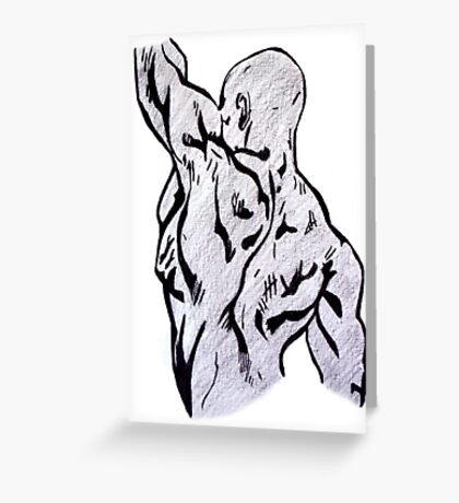 Figure Greeting Card