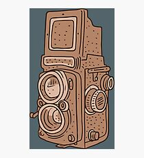 Retro Camera Photographic Print
