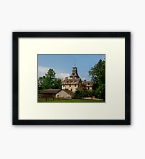 Batsto Mansion Framed Print