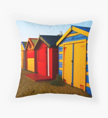 Brighton Boxes Throw Pillow