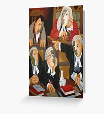 THE TRIAL Greeting Card