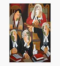 THE TRIAL Photographic Print