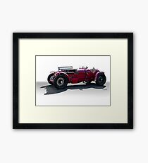 1932 Alpha Romeo P3 Race Car Framed Print