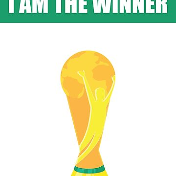 I am the winner, world cup Russia 2018 by Jurzai